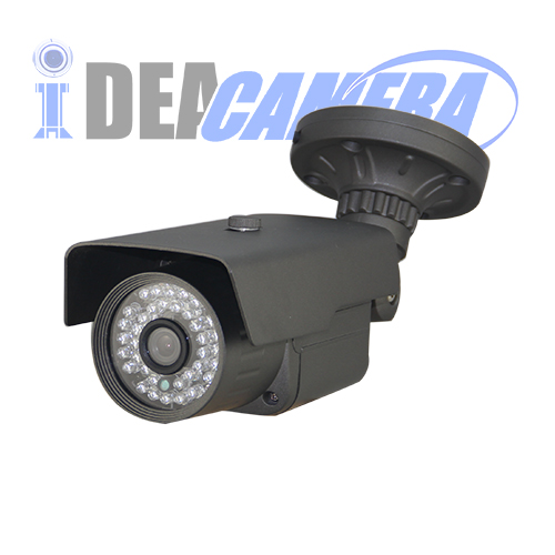 2MP Waterproof IR Bullet IP WDR Camera with 5MP 3.6mm Lens,Support POE.