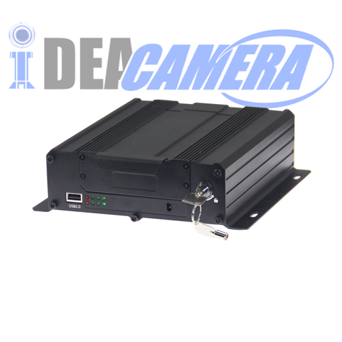 4CH 720P HD AHD Vehicle Mobile Car DVR, 3G/4G Module Optional,GPS Tracking,HDD/TF Card storage