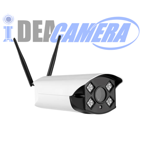 2MP Smart Wifi IP Camera,Support 4G,Day&Night in Color Vision,Outdoor Use,Camhi APP Cloud,128G micro SD Card