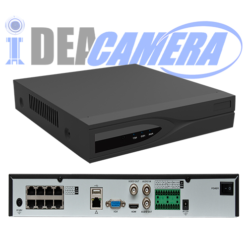 16CH H.265 NVR with 8ports POE,Max 6MP,VSS Mobile App,16CH playback,Cloud storage