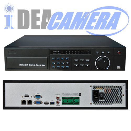 8CH 8SATA H.264 NVR with 1ch face detection,VSS Mobile App,P2P,Cloud storage,Support 6MP IPC