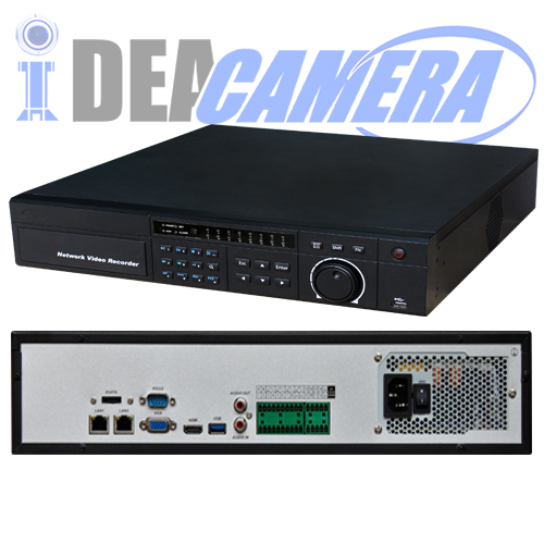 16CH 8SATA H.264 NVR,16CH realtime playback,Support 6MP IPC,VSS Mobile App,P2P,Cloud storage