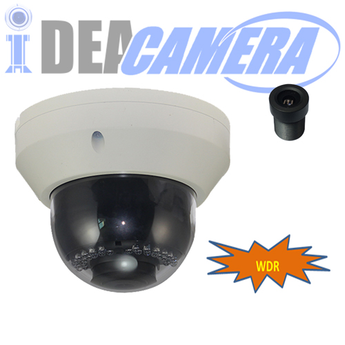 WDR IP Camera,H.265 2MP Dome Camera,Day&night color,VSS Mobile App,POE optional