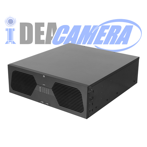 128CH H.264 NVR,16SATA,Support 4K output,Face detection,VSS Mobile App,16CH Playback,P2P